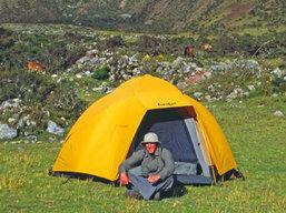 Inca trail camping