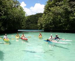 Palau sea kayaking tour - Boundless Journeys