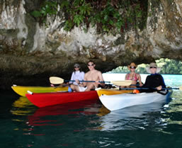 Palau sea kayaking tour - Boundless Journeys
