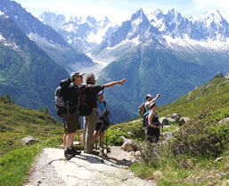 Toru du mont blanc hiking trip