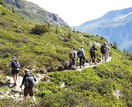 hiking trips for mont blanc