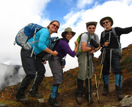 Chomolhari Trekkers in Bhutan